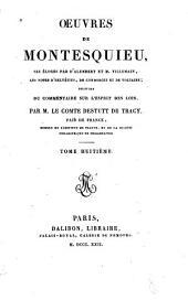 Oeuvres de Montesquieu: Volume8