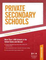 Private Secondary Schools: Special Needs Schools