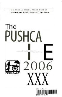 Pushcart Prize XXX PDF