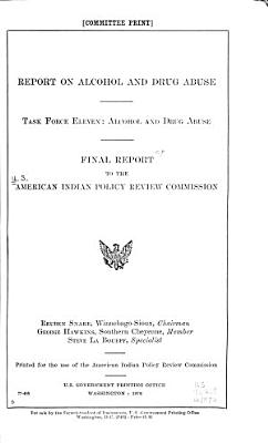 Final Report to the American Indian Policy Review Commission PDF