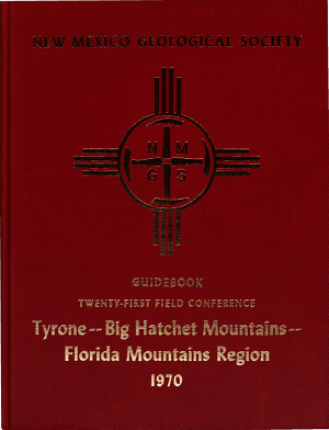 Guidebook of the Tyrone Big Hatchet Mountains Florida Mountains Region
