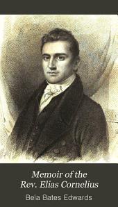Memoir of the Rev. Elias Cornelius