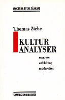 Kulturanalyser PDF