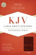 Large Print Ultrathin Reference Bible KJV PDF