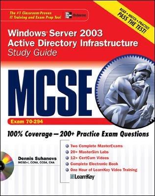 MCSE Windows Server 2003 Active Directory Infrastructure Study Guide  Exam 70 294  PDF