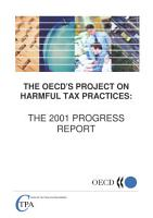 The OECD s Project on Harmful Tax Practices The 2001 Progress Report PDF