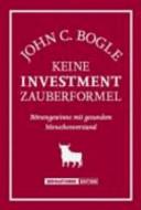 Keine Investment Zauberformel PDF