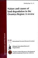 Nature and Causes of Land Degradation in the Oromiya Region PDF