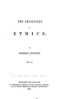The Principles of Ethics PDF