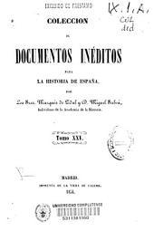 Colección de documentos inéditos para la historia de España: Volumen 25