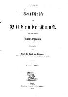 Zeitschrift f  r bildende Kunst PDF