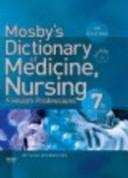 Mosby s Dictionary of Medicine  Nursing   Health Professions PDF