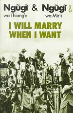 I Will Marry when I Want