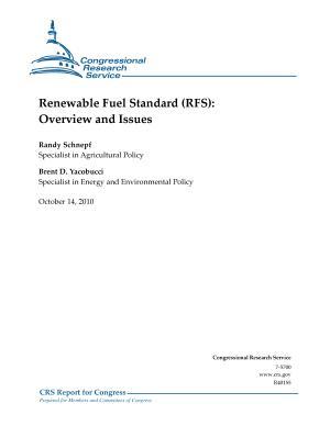 Renewable Fuel Standard (RFS)