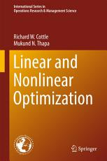 Linear and Nonlinear Optimization PDF