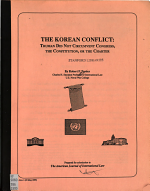 The Korean Conflict PDF