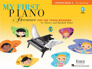 My First Piano Adventure  Lesson Book A with CD Book