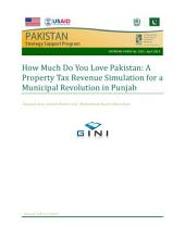 How much do you love Pakistan: A property tax revenue simulation for a municipal revolution in Punjab