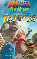 Monsters Vs  Aliens Mad Libs Book