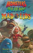 Monsters Vs  Aliens Mad Libs