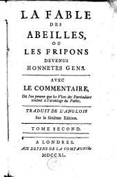La fable des abeilles: ou Les fripons devenus honnetes gens, Volume2