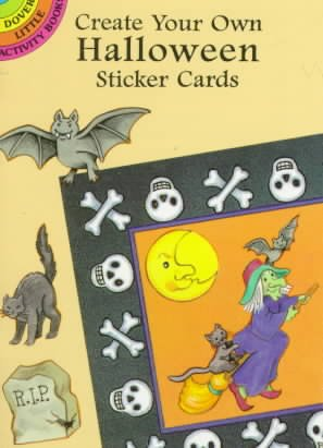 Create Your Own Halloween Sticker Cards