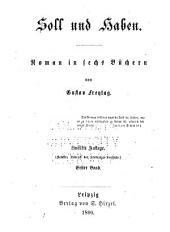 Soll und haben: Roman, Band 1