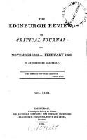 The Edinburgh Review  Or Critical Journal PDF