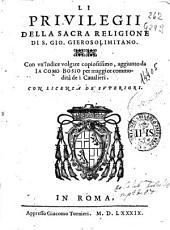 Gli statuti della sacra religione di S. Giouanni Gierosolimitano: Volume 2