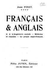 Français & anglais: l'Angleterre malade, Médecins et remèdes, Le peuple anglo-français