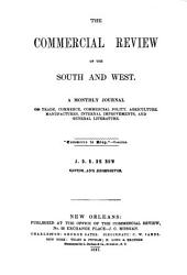 De Bow's Commercial Review of the South & West: Volume 1