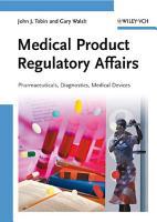 Medical Product Regulatory Affairs PDF