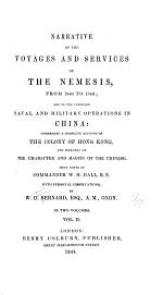 Narrative of the Voyages and Services of the Nemesis, from 1840 to 1843