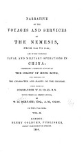 Narrative of the Voyages and Services of the Nemesis  from 1840 to 1843 PDF