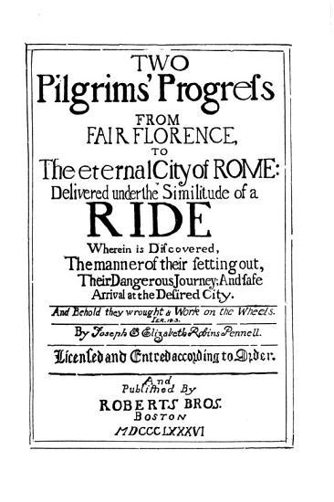 Two Pilgrims  Progress PDF