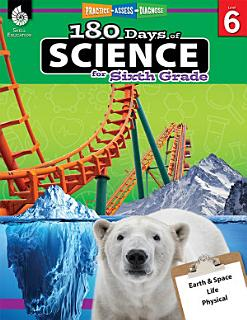 180 Days of Science for Sixth Grade Book