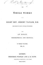 The Whole Works ; with an Essay Biographical and Critical: Volume 3