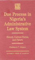 Due Process in Nigeria s Administrative Law System PDF