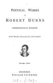 Poetical works ... chronologically arranged: Volume 1