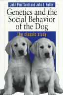 Genetics and the Social Behaviour of the Dog PDF
