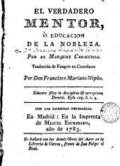 El Verdadero mentor, o, Educación de la nobleza