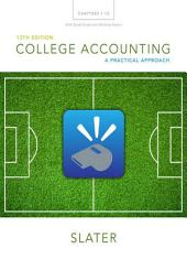 College Accounting Chapters 1-12 with Study Guide and Working Papers: Edition 13