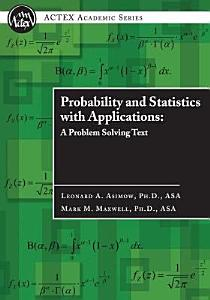 Probability and Statistics with Applications Book