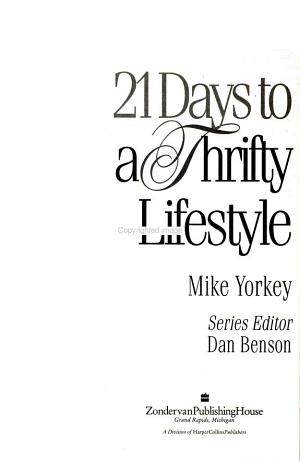 21 Days To A Thrifty Lifestyle