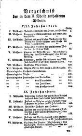 Die christlichen Jahrhunderte oder die Geschichte des Christenthumes in seinem Anfange und Fortgange: Vom VIII. bis auf das X. Jahrhundert, Band 3
