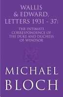 Wallis and Edward, Letters:1931-37