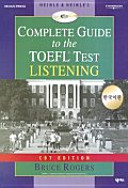 COMPLETE GUIDE TO THE TOEFL TEST LISTENING PDF