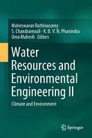 Water Resources and Environmental Engineering II PDF