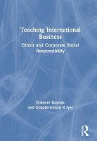 Teaching International Business PDF