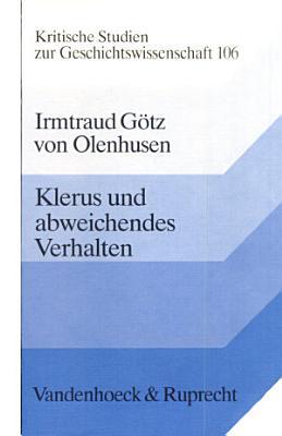 Klerus und abweichendes Verhalten PDF